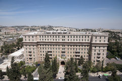 King David hotel Royalty Free Stock Photos
