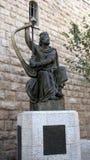 King David's Harp in Jerusalem Stock Photo