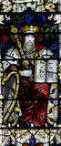 King David in stained glass Stock Images