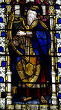 King David in stained glass Stock Photos