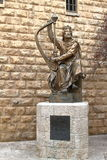 King David Statue - Jerusalem - Israel Royalty Free Stock Photos