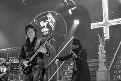 King Diamond live 2016. Kim Bendix Petersen (born 14 June 1956, Copenhagen, Denmark),better known by his stage name King Diamond, is a Danish heavy metal Royalty Free Stock Photos
