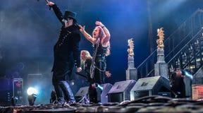 King Diamond live 2016 Stock Photos