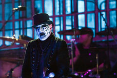 King Diamond on Metalfest 2013. Show of King Diamond  metal band on Metalfest 2013 Stock Photography