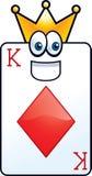 King of Diamonds Royalty Free Stock Photo