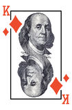 King of diamonds. Stock Photography