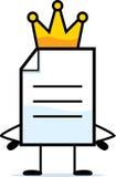 King Document Royalty Free Stock Photos