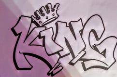 King drawing royalty free stock photos