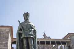 King Duarte, Portugal Stock Photography
