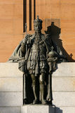 King Edward Statue - Australia Royalty Free Stock Photography