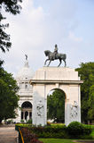 King Edward VII Arch in Victoria Memorial Royalty Free Stock Images