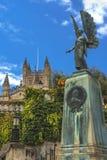 King Edward VII Memorial in Bath, Somerset, England Royalty Free Stock Photography