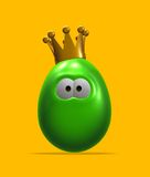 King egg Royalty Free Stock Photos