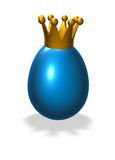 King egg Royalty Free Stock Photography