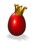 King egg Stock Photography