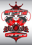 King Engine Stock Image