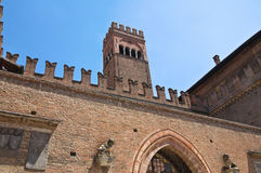 King Enzo's Palace. Bologna. Emilia-Romagna. Italy. Royalty Free Stock Images