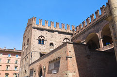 King Enzo's Palace. Bologna. Emilia-Romagna. Italy. Royalty Free Stock Photos