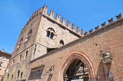 King Enzo's Palace. Bologna. Emilia-Romagna. Italy. Stock Image