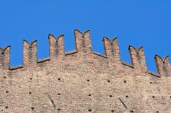 King Enzo's Palace. Bologna. Emilia-Romagna. Italy. Stock Images