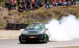 King Of Europe   Round 3  Parcmotor Castelloli Royalty Free Stock Images