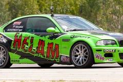 King Of Europe   Round 3  Parcmotor Castelloli Stock Image