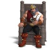King of the fantasy dwarves Royalty Free Stock Photos