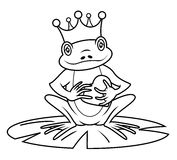 King frog Royalty Free Stock Images