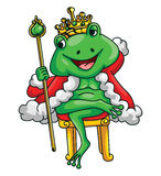 King Frog Royalty Free Stock Image