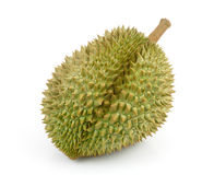 King of fruits, durian isolated on white background Royalty Free Stock Images