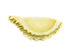 King of fruits, durian isolated on white background Stock Image