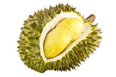 King of fruits, durian isolated on white background, durian is a smelly fruits. Stock Photography