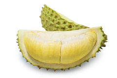 King of fruits, durian isolated on white background Royalty Free Stock Image