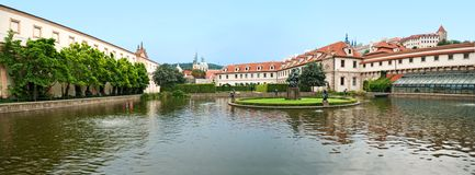 King garden in Prague Royalty Free Stock Photo