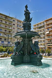 King George I Square in Patras, Peloponnese, Greece. King George I Square in Patras, Peloponnese, Western Greece stock images