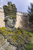 King George III Statue at Lincoln Castle Stock Photo