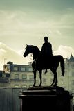 King George IV at Trafalgar Square Royalty Free Stock Images