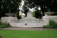 King George V Memorial Fountain in Windsor, Berkshire, England Stock Images