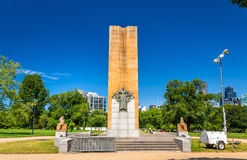 King George V Monument in Melbourne, Australia Stock Photography
