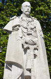 King George V Statue in London Royalty Free Stock Photos