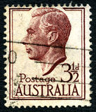 King George VI Australian Postage Stamp Royalty Free Stock Photography