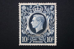 King George VI stamp Stock Image
