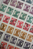 King George VI stamps Stock Image