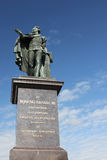 King Gustaf III statue at the Skeppsbron, Stockholm Stock Image