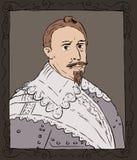 King Gustav II Adolf of Sweden Royalty Free Stock Photos