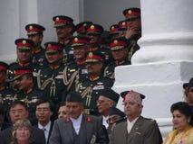 King Gyanendra Nepal royalty free stock image