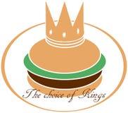 King hamburger Stock Photos