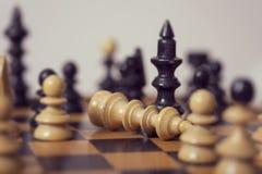 King has fallen Stock Images