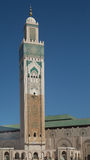 King Hassan II Minaret Royalty Free Stock Images