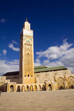 King Hassan II mosque Casablan Royalty Free Stock Images